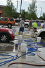 DIY carwash in Grand Junction. Sponsored and volunteers provided by MINI5280.org.