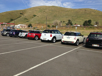 Getting ready to motor to Snowmass (near Aspen), CO, ahead of the MINI Takes The States (MTTS) nationwide tour across the country. We'll meet MTTS in Grand Junction in a day.
