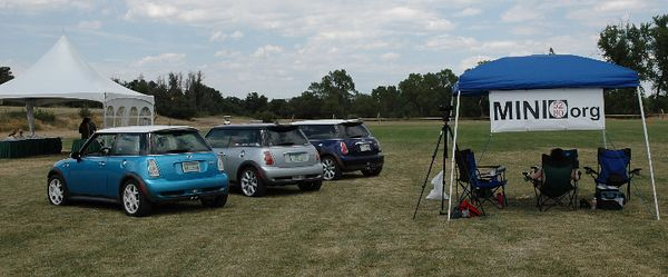 MINI5280.org presence at the second day, Sunday of the Denver Polo Club 2005 Invitational.