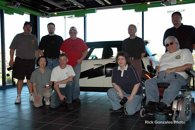 Colorado and Nebraska MINI owners meet at MINI of Omaha. The nice Nebraska folks, all members of C.O.R.N. (Cooper Owners of Rural Nebraska), welcomed us to their home.