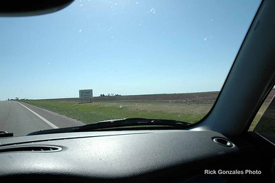 Nearing McDonald, Kansas.