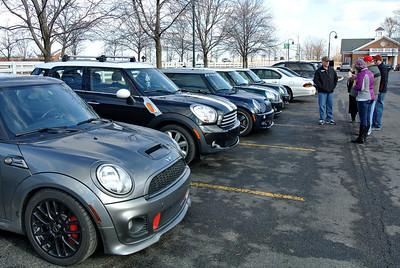 Nice turn out of MINIs....
