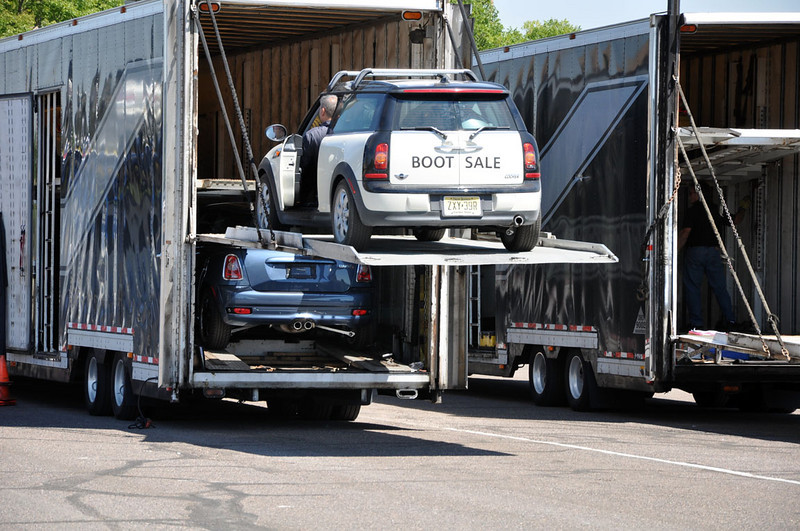 MTTS Day 3. Loading MINIs at the conclusion of MTTS.