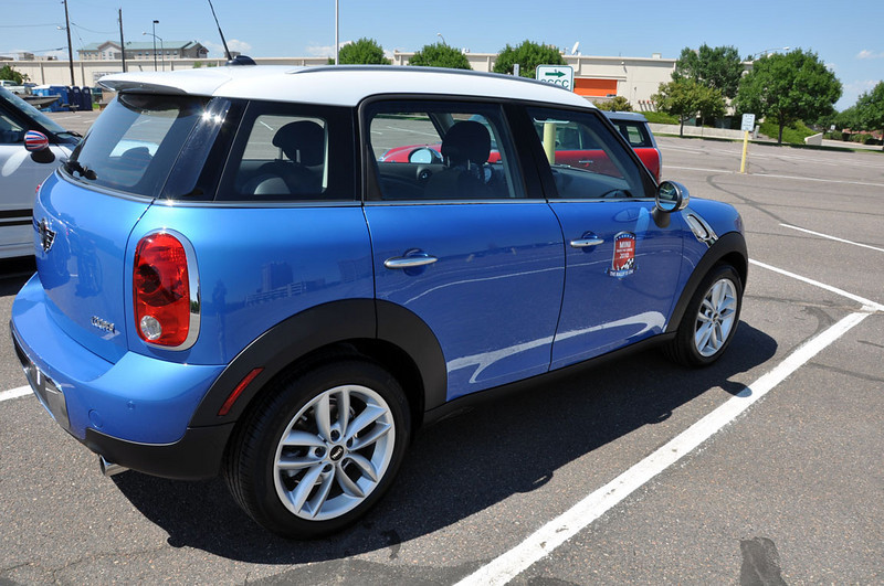 MTTS Day 3. A MTTS-introduced Countryman. One of the better colors.