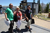 MITM Day 2. Michael (left) and Ken (rock stars) and their mother arriving at Sunspot.