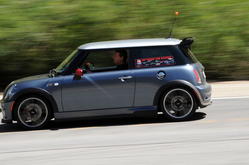 MITM Day 1. MINIs in motion.
