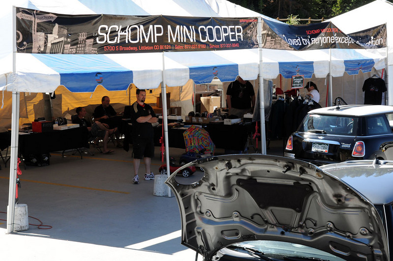 MITM Day 2. The large Schomp MINI tent at MITM.