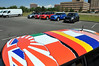"MTTS Day 3. Rick's ""flags of the world"" vinyl roof graphic."