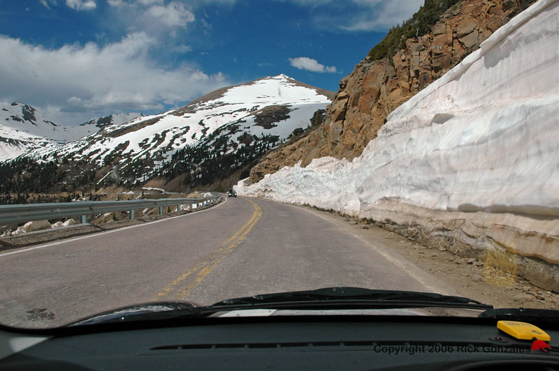 Heading down the west side of Independence Pass, toward Aspen.