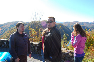 The crew at the overlook.