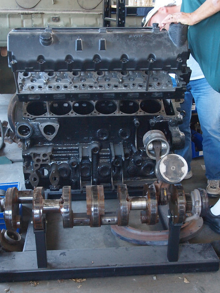 Spare Panther engine (V-12, 1400 cubic inches!)
