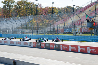 Start of the Saturday Feature Race