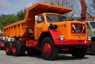 4th Classic Magirus-Deutz Truck Meeting 2013,  Neustadt/Aisch, Germany