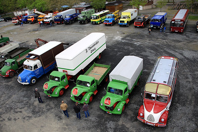 5th Classic Magirus Deutz Meting 2015, Neustadt/Aisch, Germany