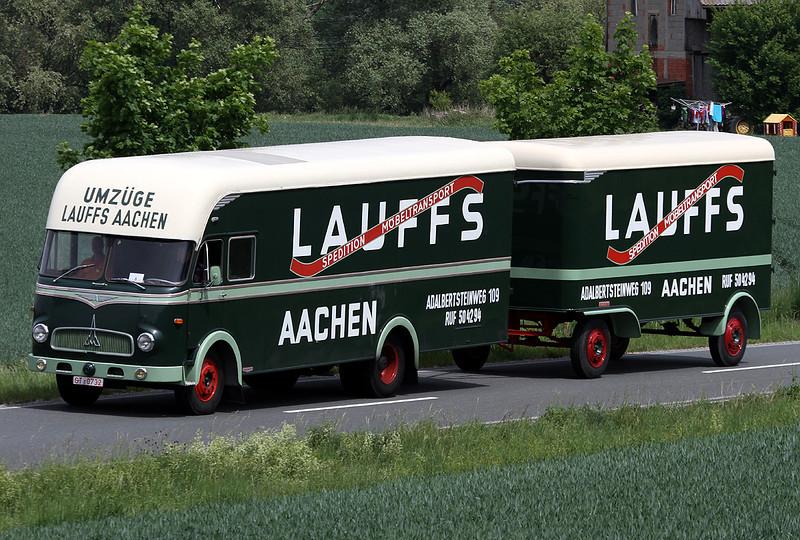 Classic Magirus-Deutz Truck Meeting 2011, Neustadt/Aisch, Germany