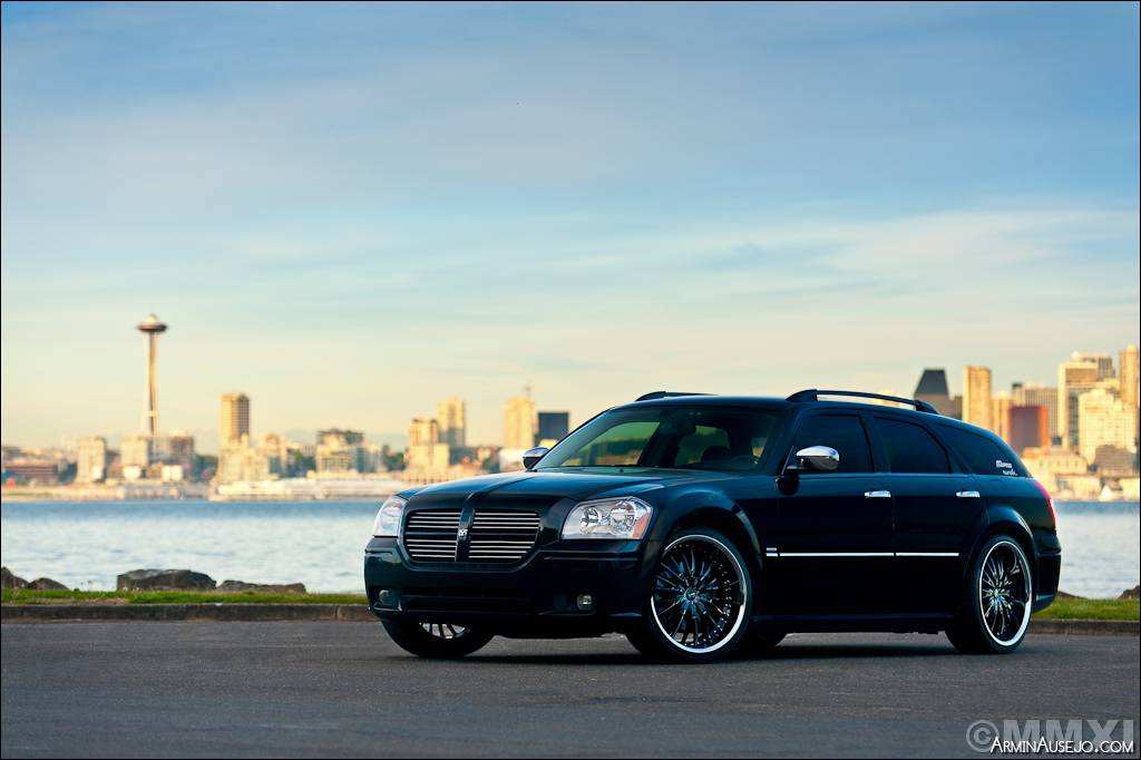 Matt's Dodge Magnum for the Falken Tires 2012 SEMA Calendar