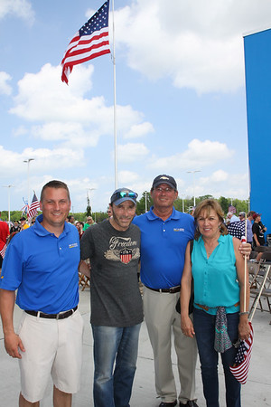 May 17, 2015. Pat O' Brian Chevrolet honors the Vets--Lee Greenwood Concert.