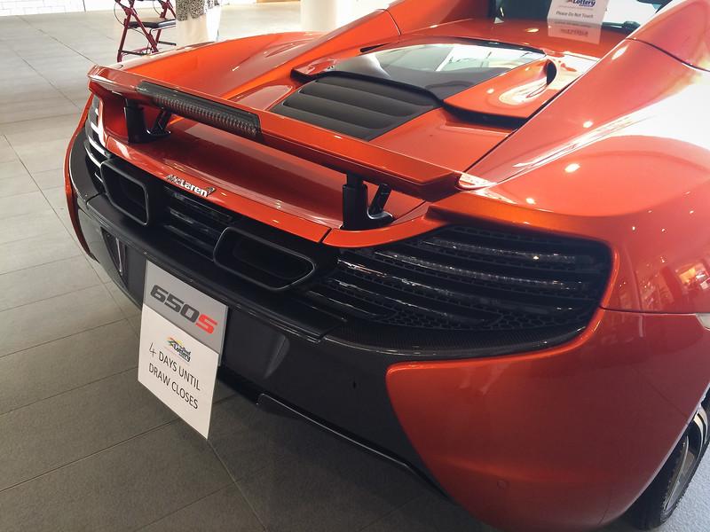 McLaren 650s in Deaf Lottery, Feb 2017
