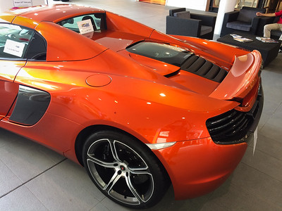 McLaren 650s in Deaf Lottery, Feb 2017