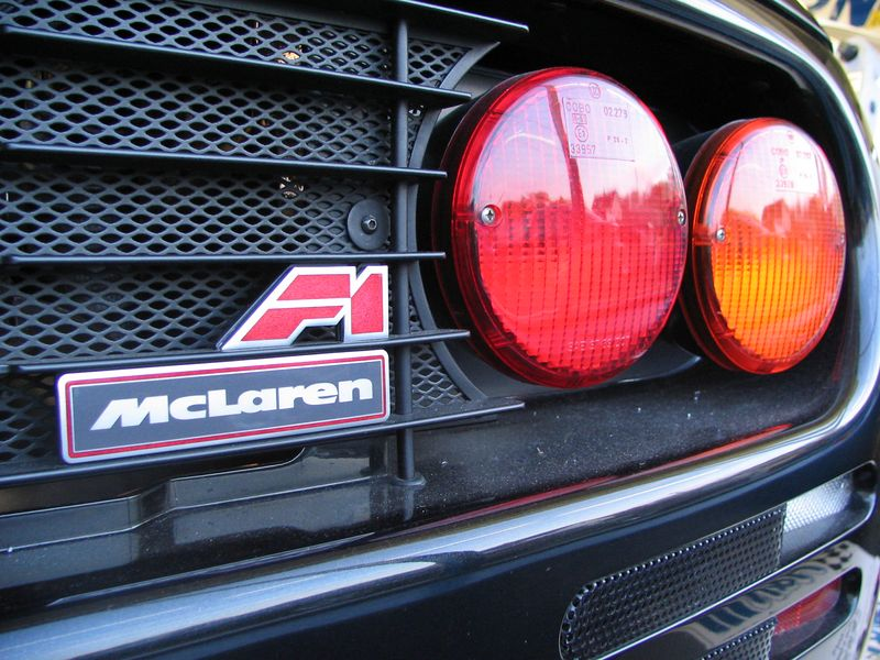 Body - rear emblem, taillights