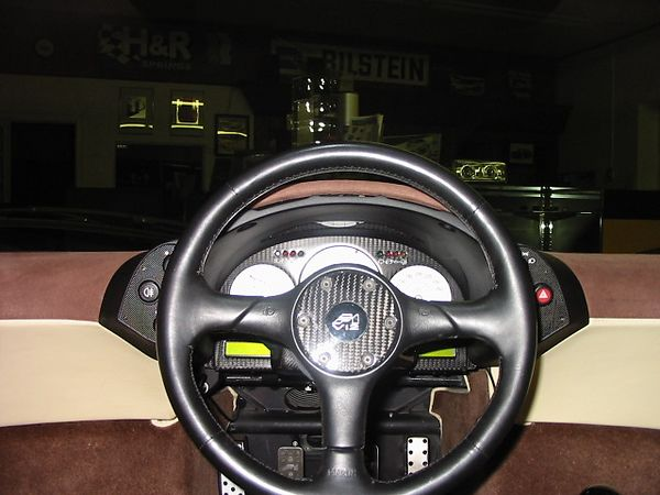 Interior - driver's view