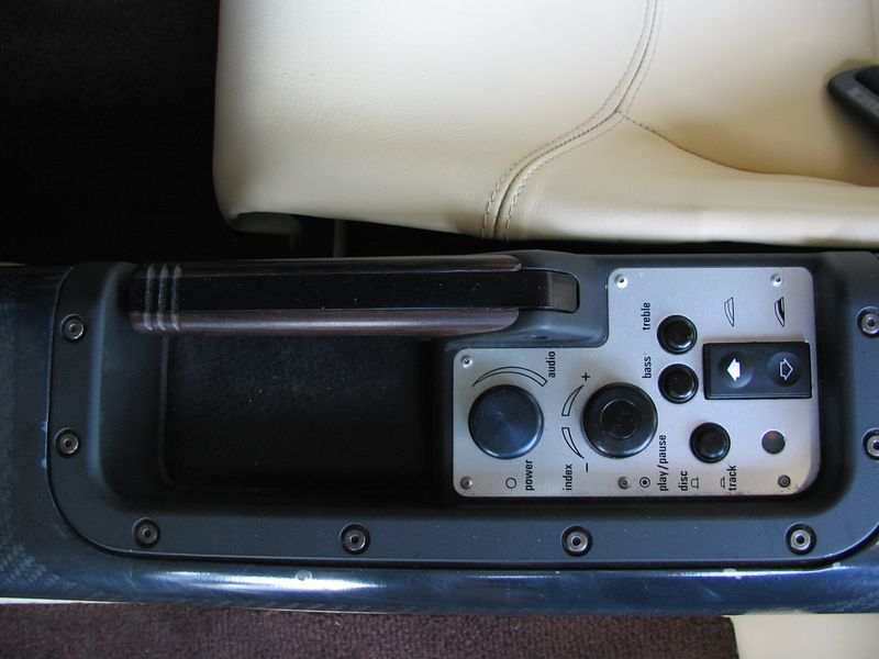 Interior - left side controls