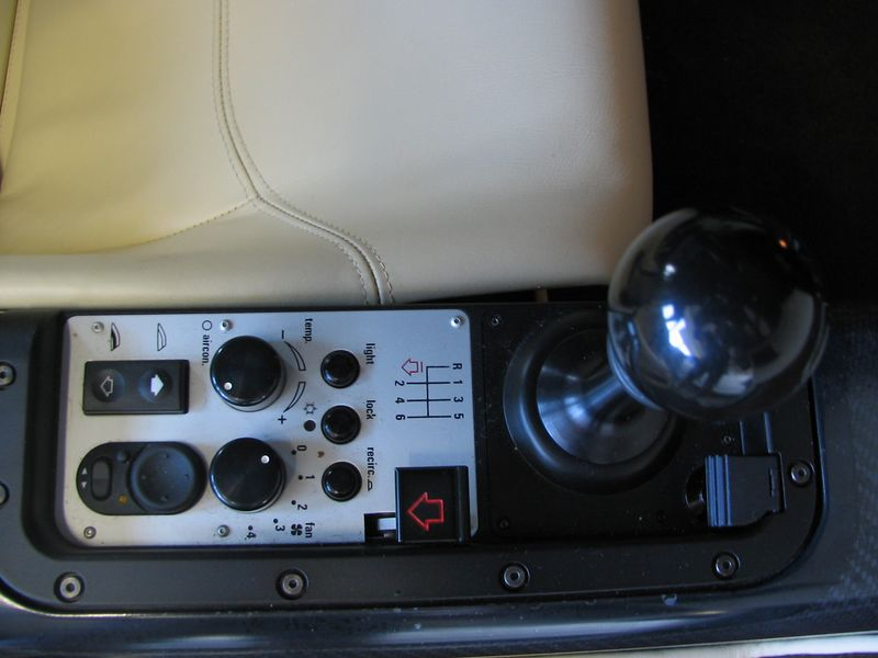 Interior - right side controls
