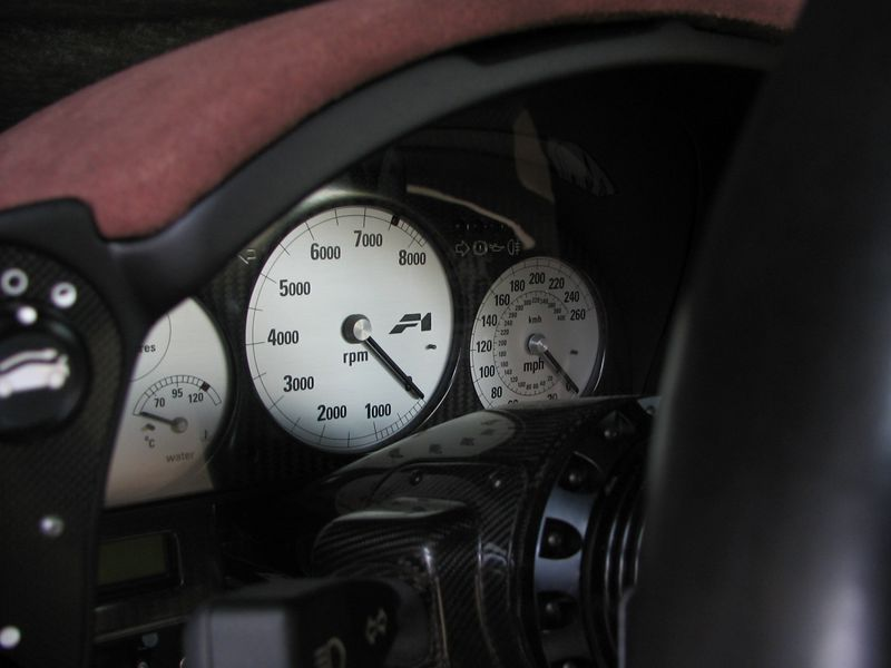 Interior - gauges