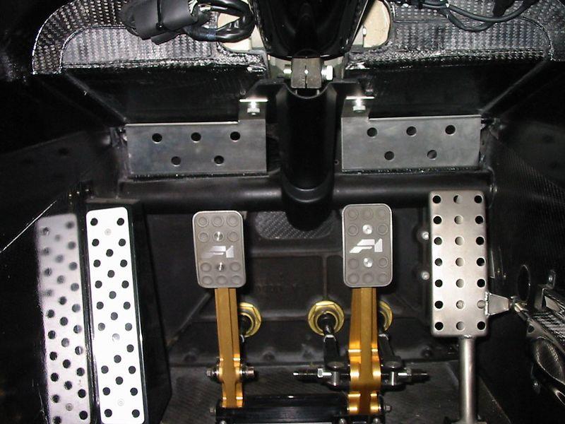 Interior - pedals