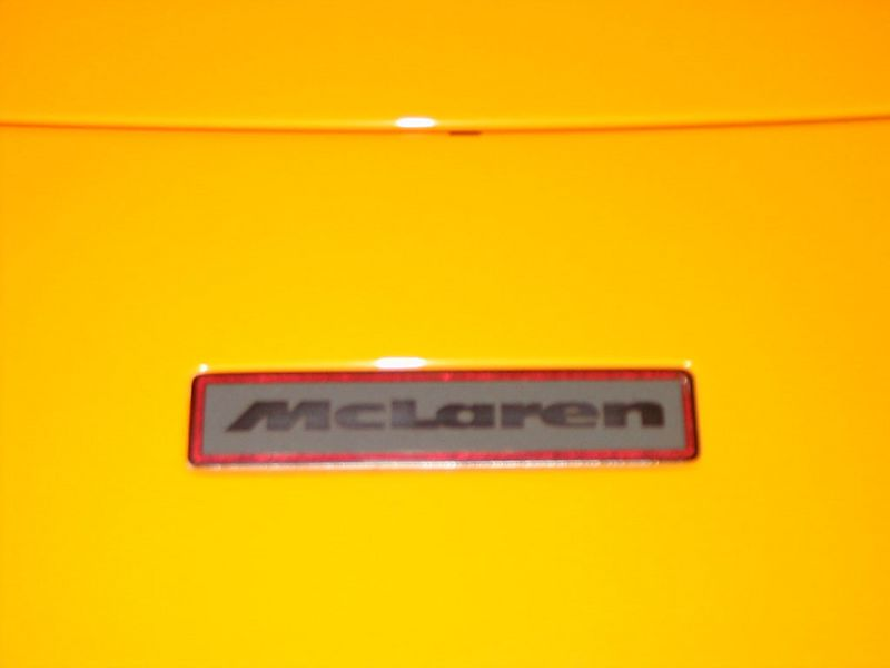 Body - McLaren badge