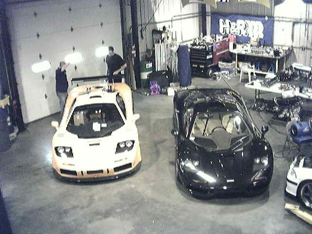 Car - arriving at TMS (from TMS Shop Cam)