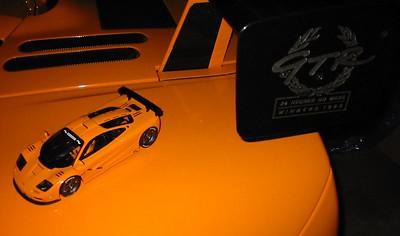 Model - rear deck