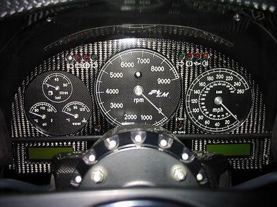 Interior - gauges
