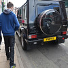 AMG G55 Mercedes in black