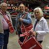 Bobby M., Doug M. and Barbara M. at Mecum Auto Auction K.C., Mo.