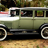 Ray and Margaret Mudge 1929 Taxi Cab