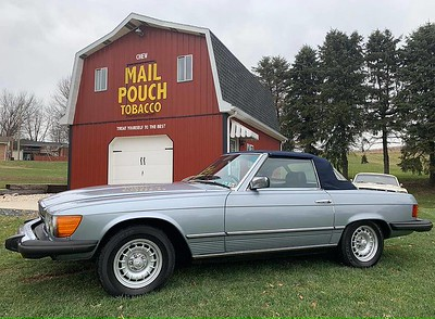 1980 Mercedes Benz 450 SL for sale