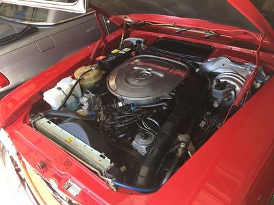 Mercedes 500 SL Engine 117.064