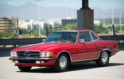 1986 Mercedes Benz  R 107 500 SL