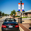 Lincoln Highway and Route 66 share 3/10 mile, Plainfield, IL