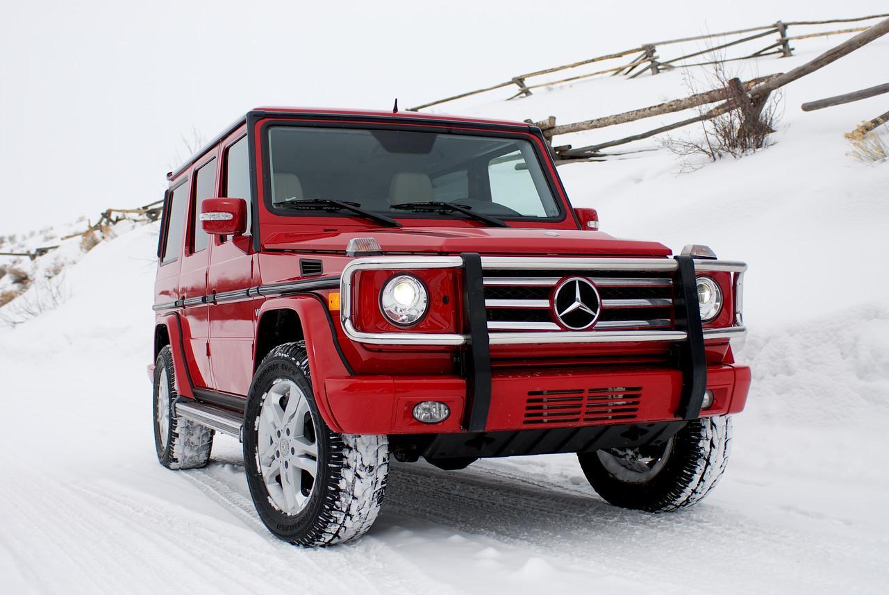 Mercedes Benz G550