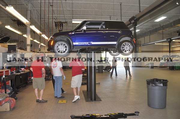 It's a Bird, it's a Plane. No, it's a Metoplex Mini Club Member at DIY day at Minis of Dallas.