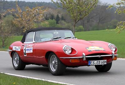 1er Metz Classic 2017 - Jaguar E BJ 1969 - Blumenstock