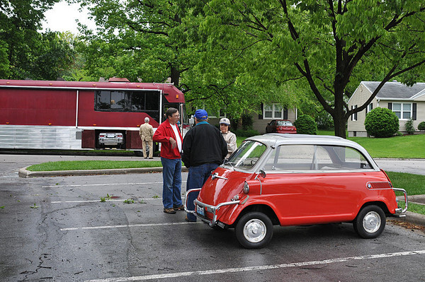 Micro Car Show in Westwood, Ks