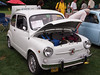 1968 Fiat 600E at the Microcar and Minicar show at Larz Andersen Auto Museum in Brookline, MA on July 15, 2012