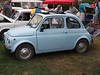 1971 Fiat 500 at the Microcar and Minicar show at Larz Andersen Auto Museum in Brookline, MA on July 15, 2012