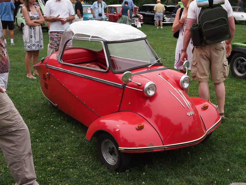Messerschmitt KR200 at the Microcar and Minicar show at Larz Andersen Auto Museum in Brookline, MA on July 15, 2012