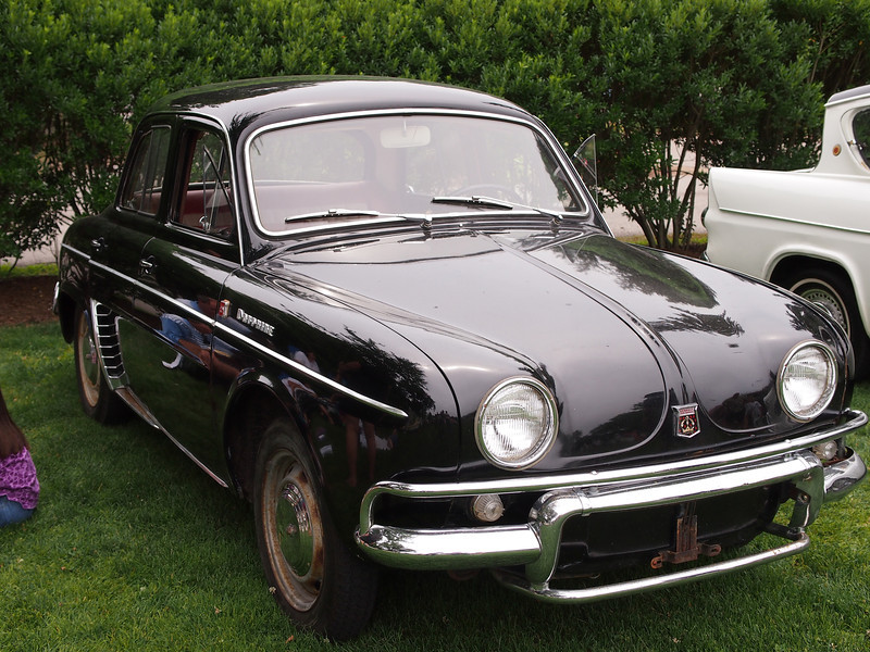Renault Dauphine at the Microcar and Minicar show at Larz Andersen Auto Museum in Brookline, MA on July 15, 2012