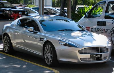 Aston Martin Rapide at Portside, Hamilton, Brisbane; Tuesday 19 June 2012.