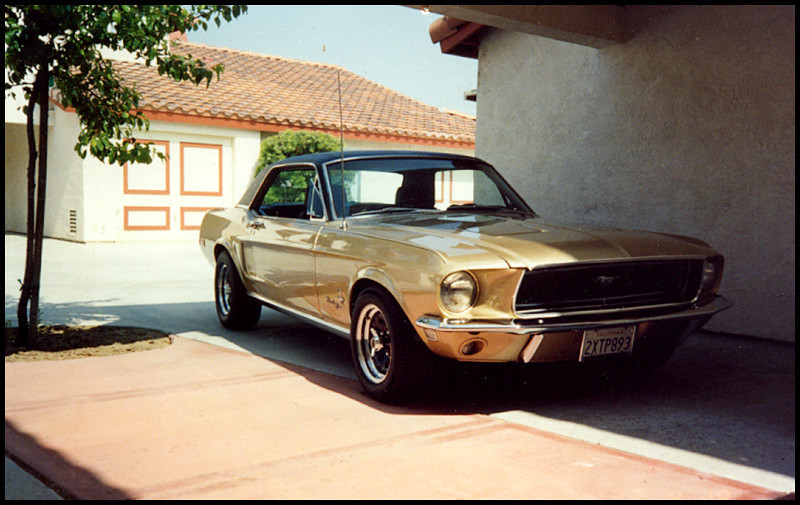 My 68 Pony, I miss this fun car!